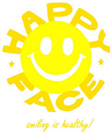 mark for HAPPY FACE SMILING IS HEALTHY!, trademark #77886744