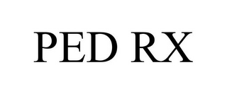 mark for PED RX, trademark #77887996