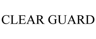 mark for CLEAR GUARD, trademark #77888432