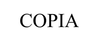 mark for COPIA, trademark #77889936