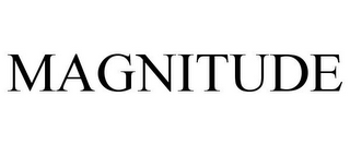 mark for MAGNITUDE, trademark #77891834