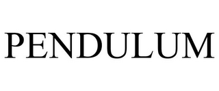 mark for PENDULUM, trademark #77891847