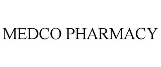 mark for MEDCO PHARMACY, trademark #77891873