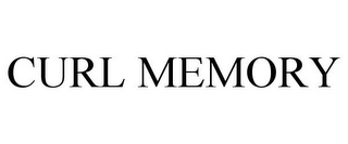 mark for CURL MEMORY, trademark #77892473