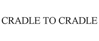 mark for CRADLE TO CRADLE, trademark #77892477