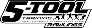 mark for 5-TOOL TRAINING FIELDING THROWING AVERAGE POWER SPEED RAWLINGS., trademark #77894078