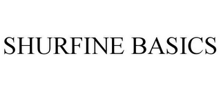 mark for SHURFINE BASICS, trademark #77895154