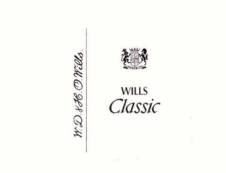 mark for WILLS CLASSIC W.D.&H.O. WILLS, trademark #77895662