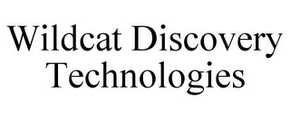 mark for WILDCAT DISCOVERY TECHNOLOGIES, trademark #77897074