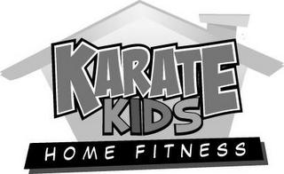 mark for KARATE KIDS HOME FITNESS, trademark #77900222