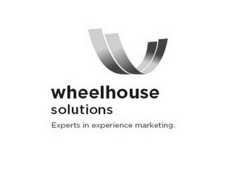mark for WHEELHOUSE SOLUTIONS EXPERTS IN EXPERIENCE MARKETING., trademark #77902364