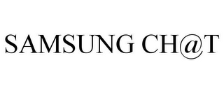 mark for SAMSUNG CH@T, trademark #77902690