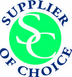 mark for SC SUPPLIER OF CHOICE, trademark #77904552