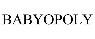mark for BABYOPOLY, trademark #77905331