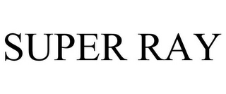 mark for SUPER RAY, trademark #77905369