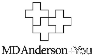 mark for MD ANDERSON + YOU, trademark #77905586