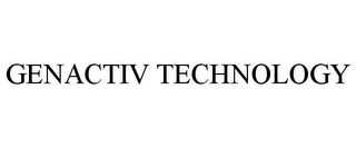 mark for GENACTIV TECHNOLOGY, trademark #77905798