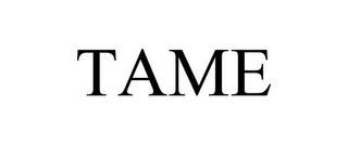 mark for TAME, trademark #77906550