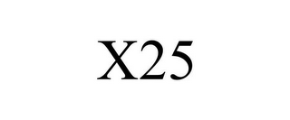 mark for X25, trademark #77906644