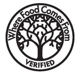 mark for WHERE FOOD COMES FROM VERIFIED, trademark #77908046