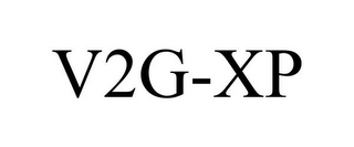 mark for V2G-XP, trademark #77909326