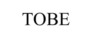 mark for TOBE, trademark #77911811