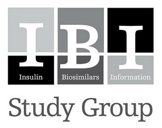 mark for IBI INSULIN BIOSIMILARS INFORMATION STUDY GROUP, trademark #77912697