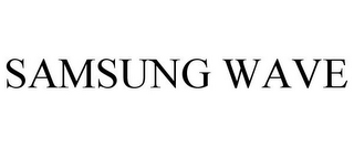 mark for SAMSUNG WAVE, trademark #77912845