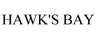 mark for HAWK'S BAY, trademark #77917488