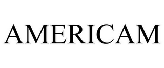 mark for AMERICAM, trademark #77920936