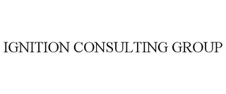 mark for IGNITION CONSULTING GROUP, trademark #77921148