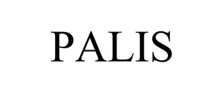 mark for PALIS, trademark #77921384
