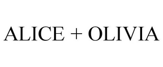 mark for ALICE + OLIVIA, trademark #77921510