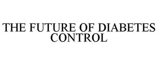 mark for THE FUTURE OF DIABETES CONTROL, trademark #77921707