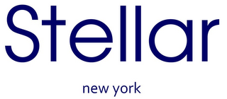 mark for STELLAR NEW YORK, trademark #77924523