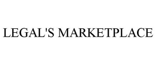 mark for LEGAL'S MARKETPLACE, trademark #77926034