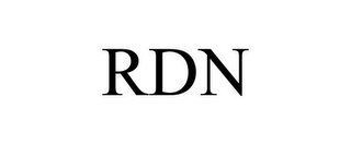 mark for RDN, trademark #77926101