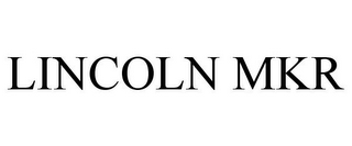 mark for LINCOLN MKR, trademark #77926138