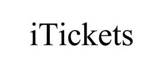 mark for ITICKETS, trademark #77926930