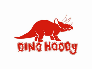 mark for DINO HOODY, trademark #77928027