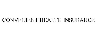 mark for CONVENIENT HEALTH INSURANCE, trademark #77929620