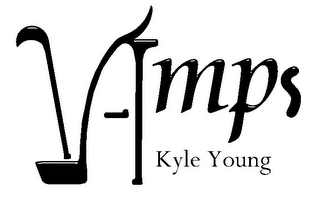 mark for VAMPS KYLE YOUNG, trademark #77931305
