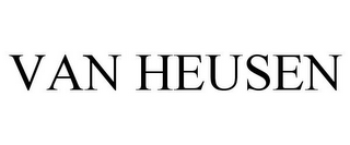 mark for VAN HEUSEN, trademark #77932372