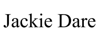mark for JACKIE DARE, trademark #77933170