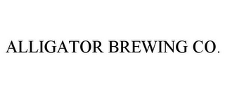mark for ALLIGATOR BREWING CO., trademark #77936446
