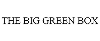 mark for THE BIG GREEN BOX, trademark #77937204