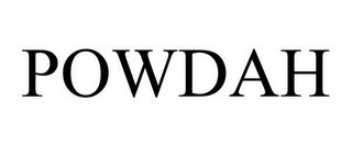 mark for POWDAH, trademark #77940213