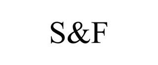 mark for S&F, trademark #77940445