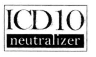 mark for ICD 10 NEUTRALIZER, trademark #77941462
