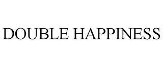 mark for DOUBLE HAPPINESS, trademark #77943746